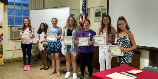 Youth receive awards