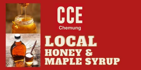 Find local honey & maple syrup!