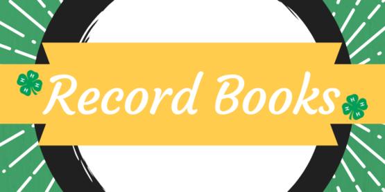 4-H Record Books