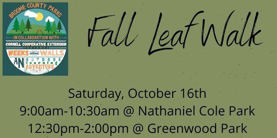Fall Leaf Walk