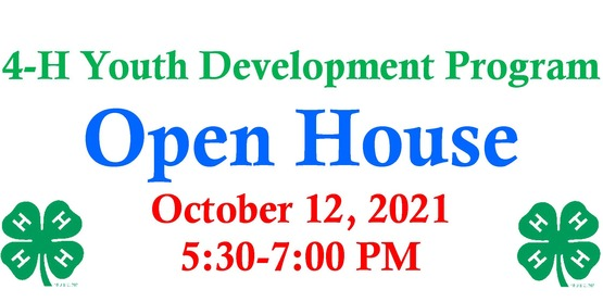 Open house 2021