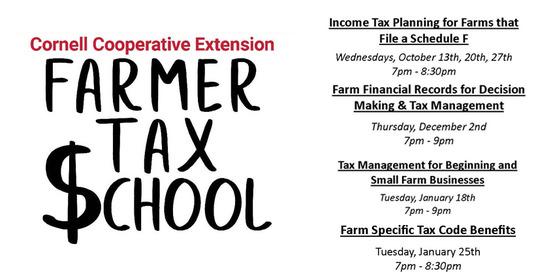 Farmers Tax School
