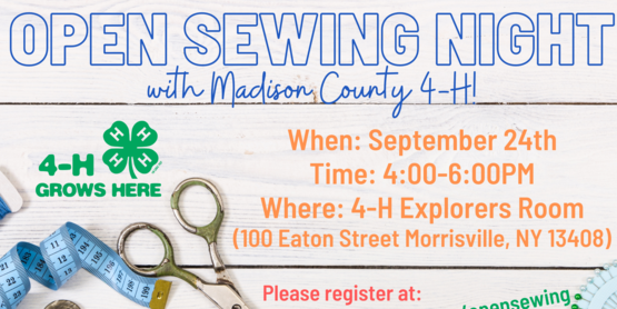 open sewing night