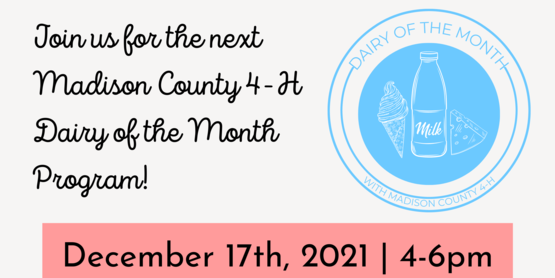 dairy of the month december