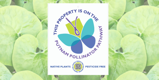 Join the Putnam Pollinator Pathway! Proclaim your promise with this attractive yard sign.