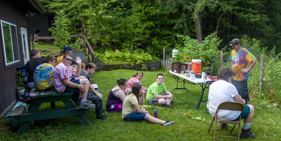Wild Edible Identification at 4-H Camp Wabasso
