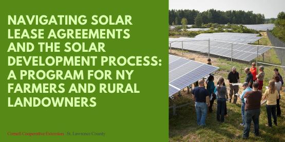 Solar Lease Program Flyer