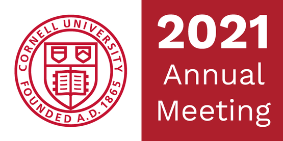 cornell logo and text reading 2020 annual meeting.