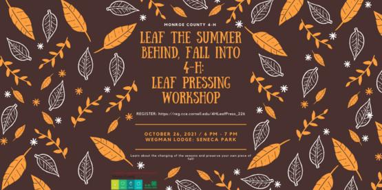 Leaf Press Workshop