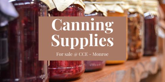 Canning Supplies banner
