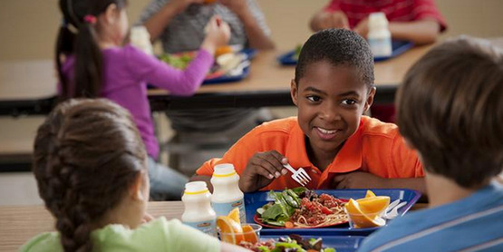 The National School Lunch Program provides healthy, balanced low-cost or free meals to children each school day.