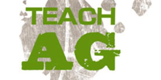 Teach Ag logo from http://www.naae.org/