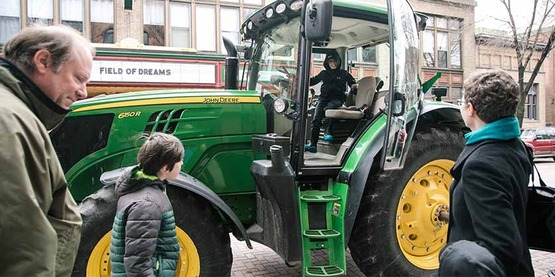 See big farm equipment, little farm animals, meet farmers, sample products and MORE!