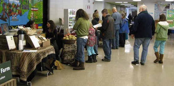 The CSA Fair allows consumers the opportunity to learn more about CSA farms and programs.