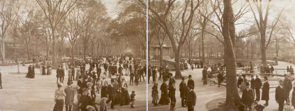 The Mall, c. 1902. Photo courtesy of the Library of Congress.