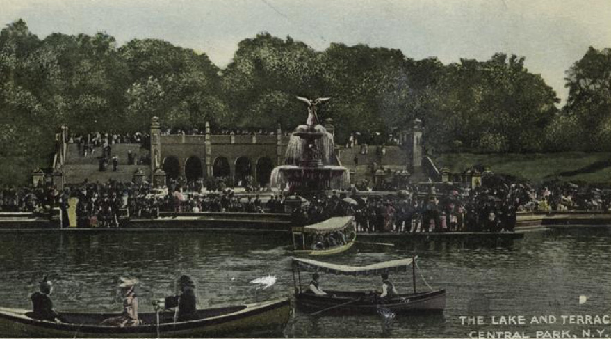 The Lake and Bethesda Terrace.