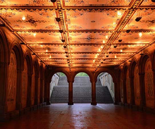 Calvert Vaux And The Vision Of Bethesda Terrace The