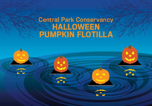 Halloween Pumpkin Flotilla Graphic 2017