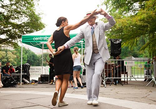 Harlem Meer Performance Festival 2018 Dancing