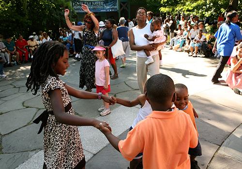 Harlem Meer Performance Festival 2018 Kids
