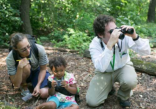 Discovery Walks for Families: Beginning Birders Hallett