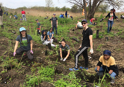 ROOTS (Restoration of the Outdoors Organized by Teen Students)