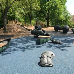Safari Playground Hippos