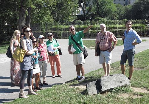 CPC Volunteers Tour Guides