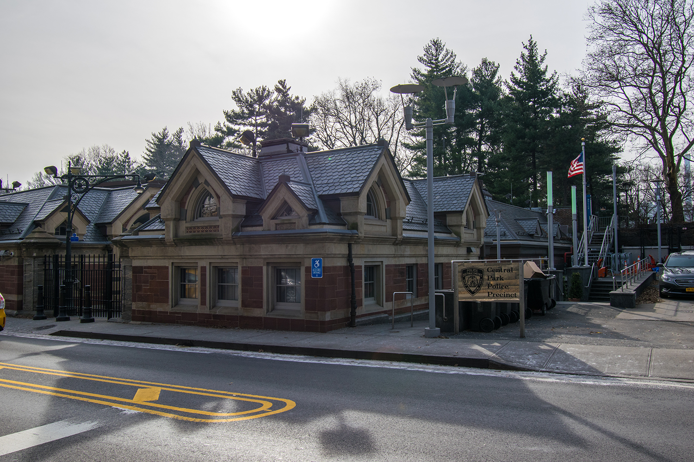 central park police precinct