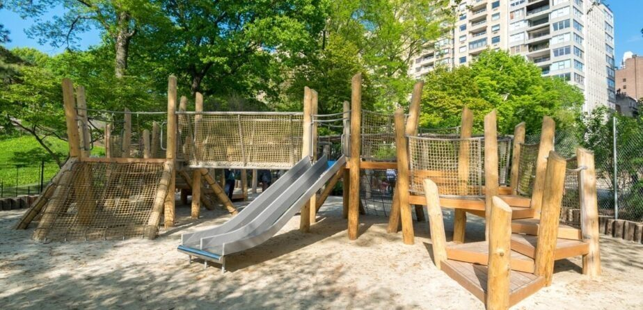 A playground refurbished in 2019