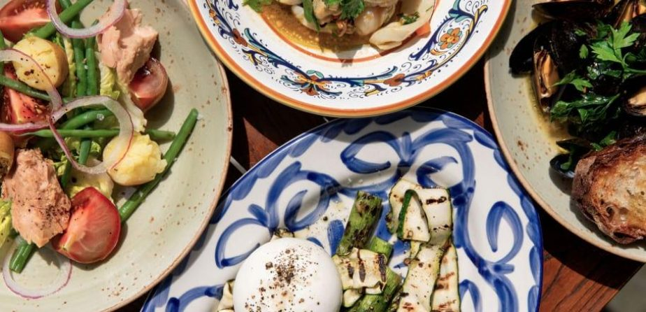 An assortment of dishes from Felice