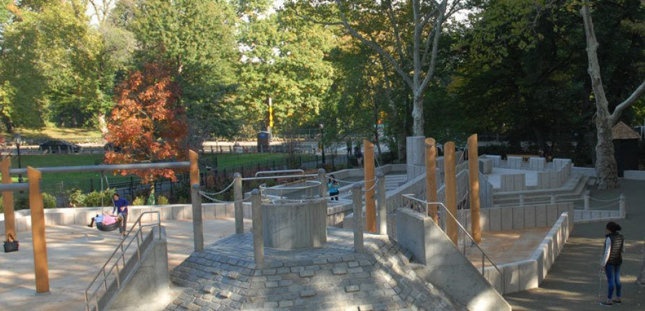 East 72nd Street Playground, after