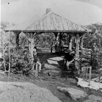 Ramble Summerhouse Historic Photo