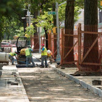 West 86th Street Perimeter Construction
