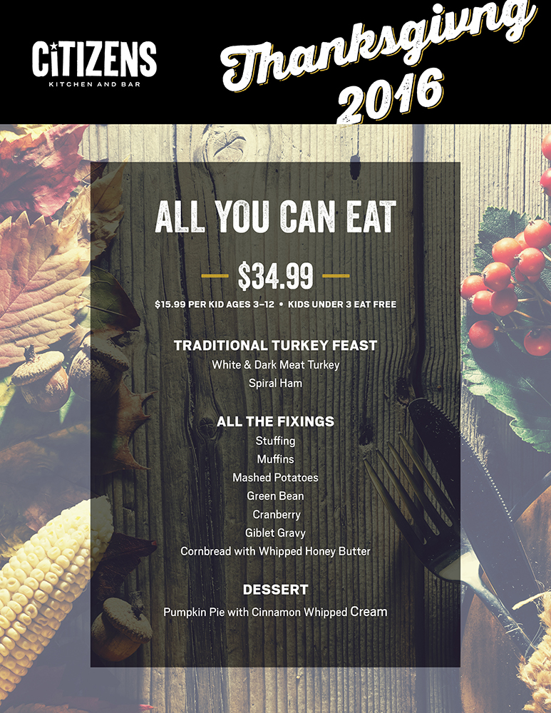 Thanksgiving at Mandalay Bay 2016