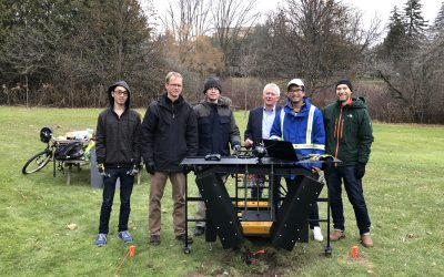 Demine Robotics Uses Husky UGV in Landmine Excavating Device