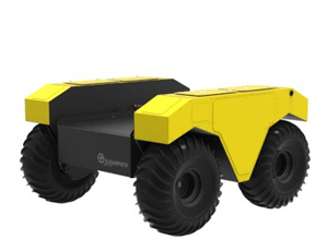 Black Yellow Robot for Remote Survey and Inspection