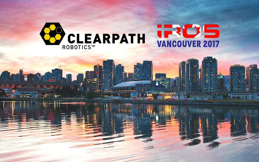 Clearpath Presents Jorge Cham and More at iROS 2017