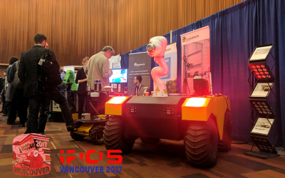 Clearpath Robotics Attends ROSCon & iROS 2017