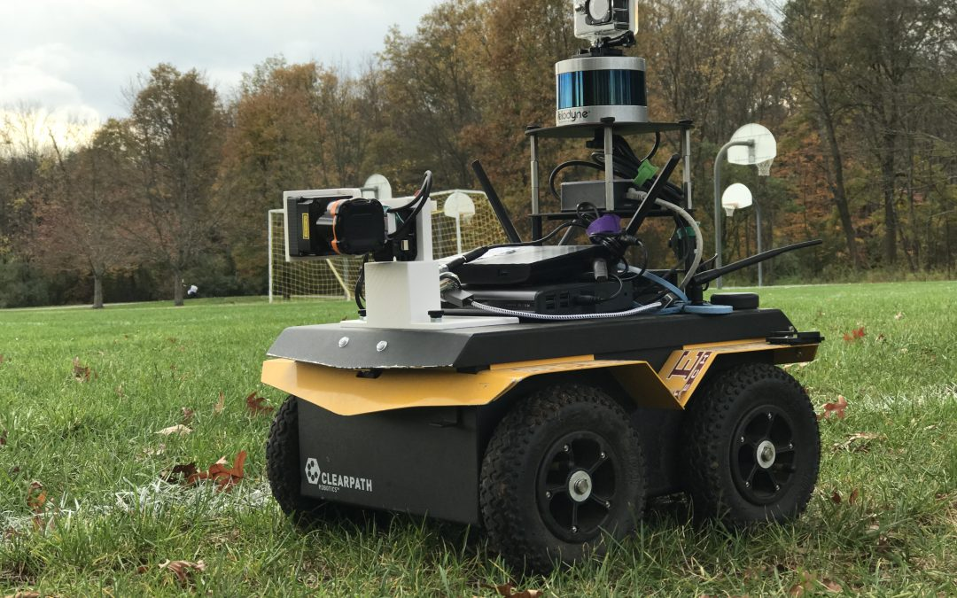 SIT Advances Autonomous Navigation Research Using Jackal UGV