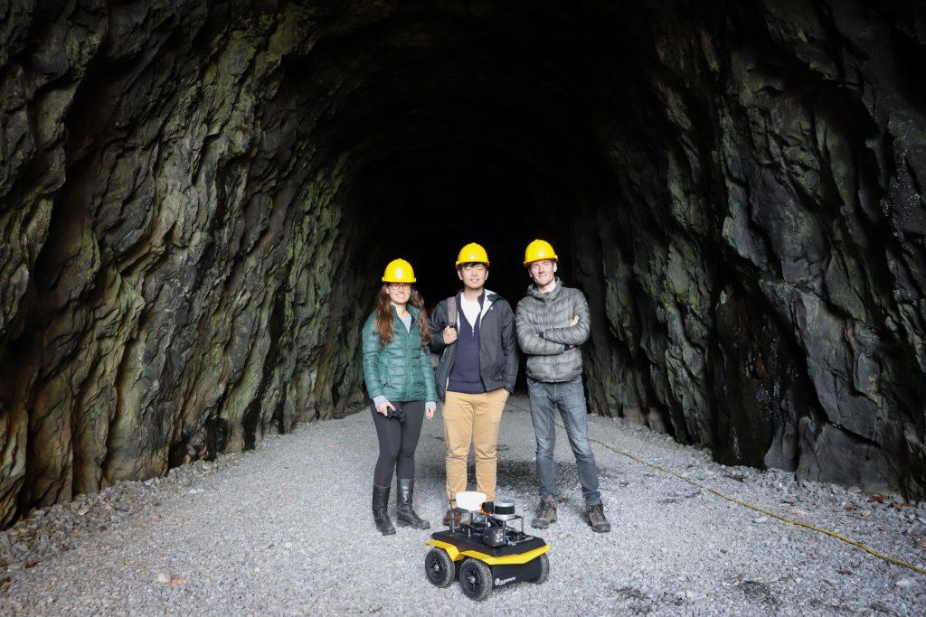 University Of Virginia Maps Historic Tunnel Using Jackal