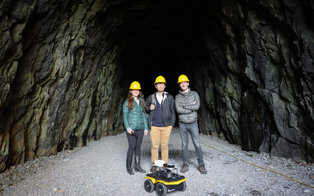 University of Virginia Maps Historic Tunnel Using Jackal UGV
