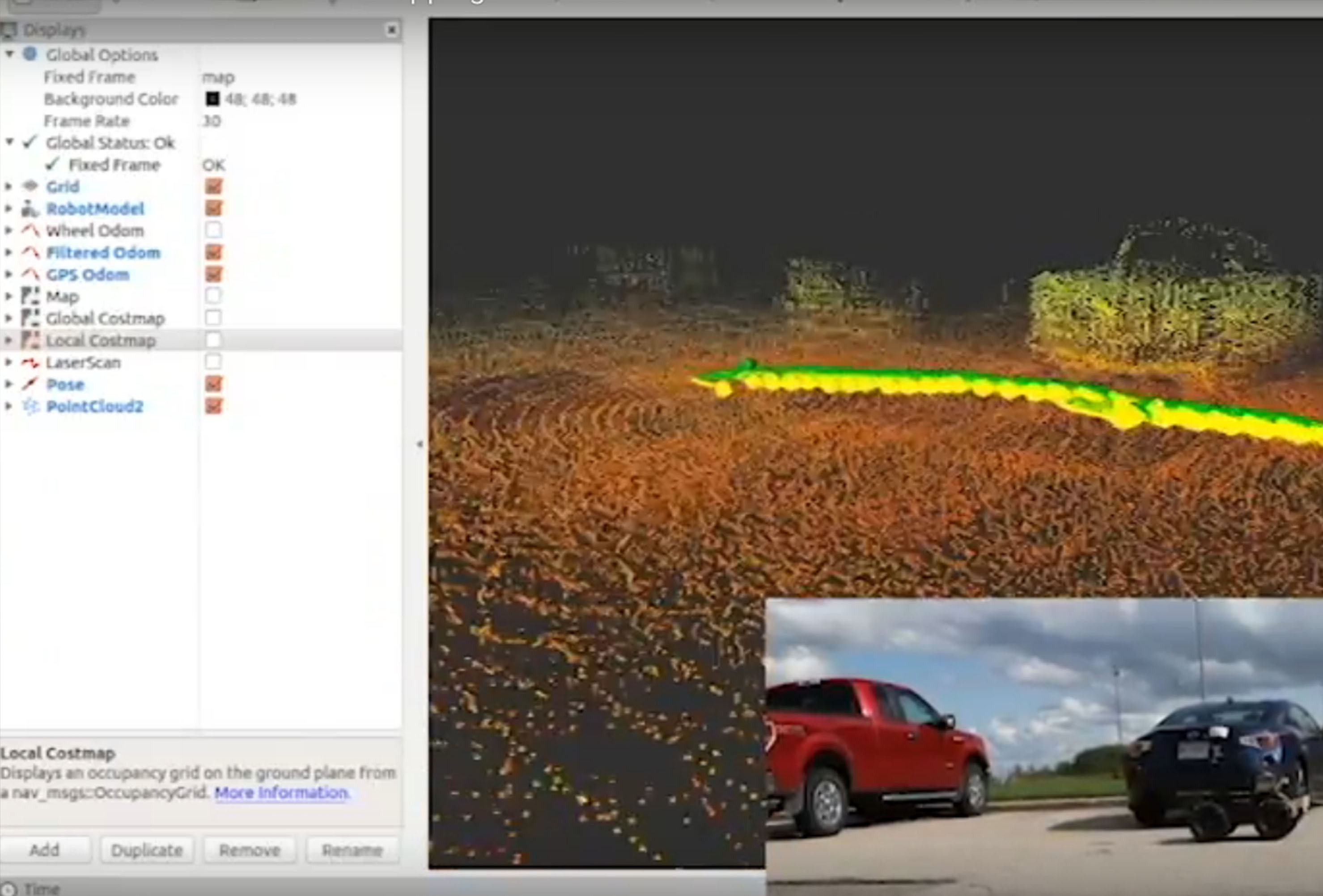Mapping Deevelopment cars lidar rviz SLAM