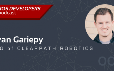 Clearpath CTO talks ROS on Podcast