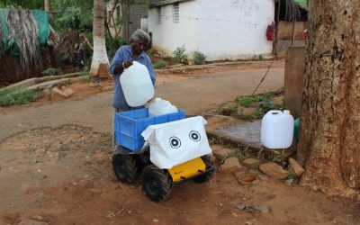 Husky UGV Hauls Water Across Distant Villages in Rural India