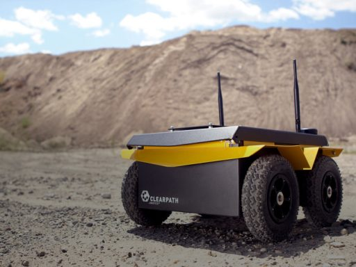 University of Manchester Characterize Highly Radioactive Environments using Jackal UGV