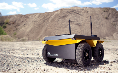 University of Manchester Characterize Remote Sites using Jackal UGV