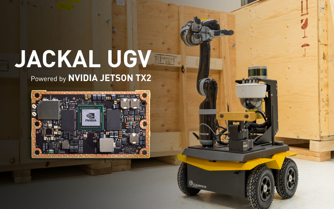 Jackal UGV & NVIDIA Jetson: A match made in heaven