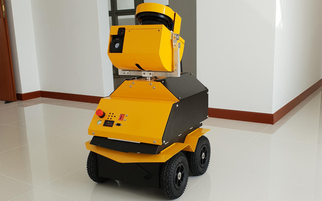 Jackal-Based Robot Modernizes Site Inspection