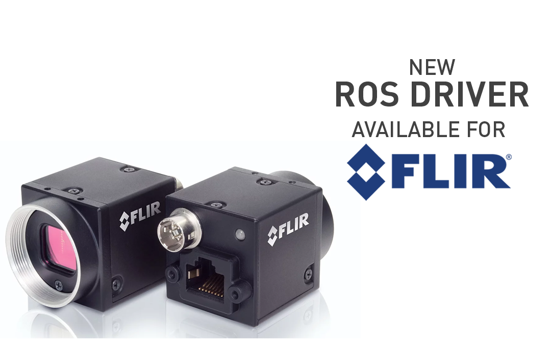 Clearpath Releases New ROS Driver for FLIR Vision Cameras